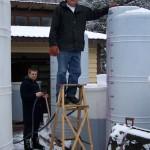 winter winery work 2009